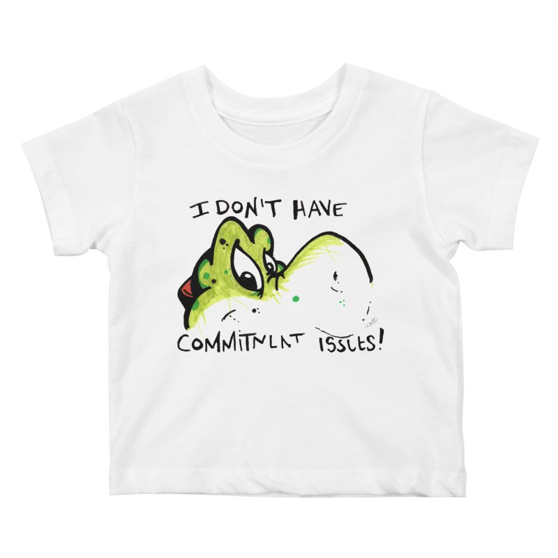 Issues Kids Baby T-Shirt by tmoney's Artist Shop
