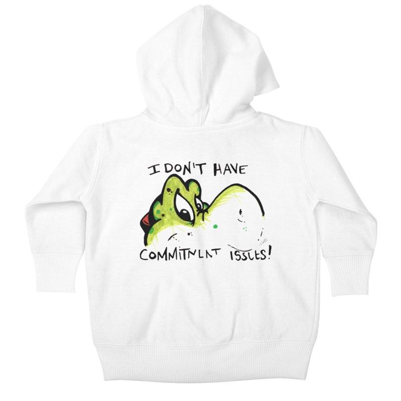 Issues Kids Baby Zip-Up Hoody by tmoney's Artist Shop