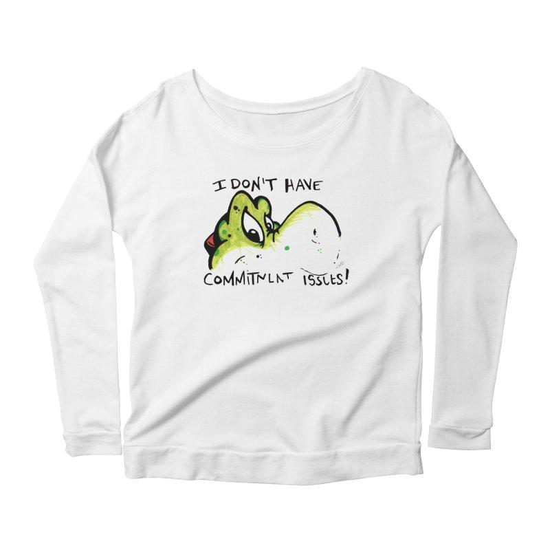 Issues Women's Scoop Neck Longsleeve T-Shirt by tmoney's Artist Shop