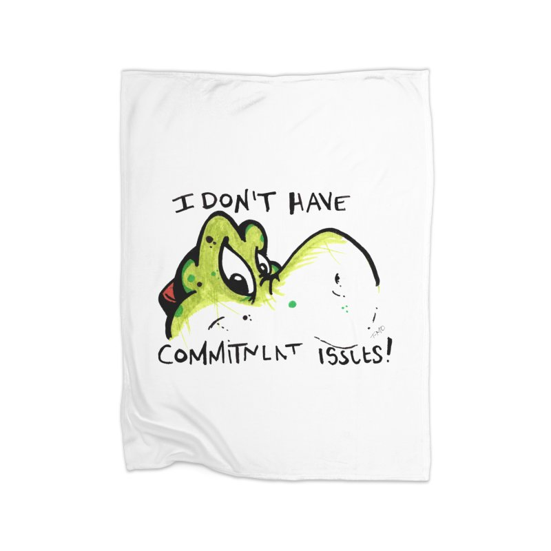 Issues Home Fleece Blanket Blanket by tmoney's Artist Shop