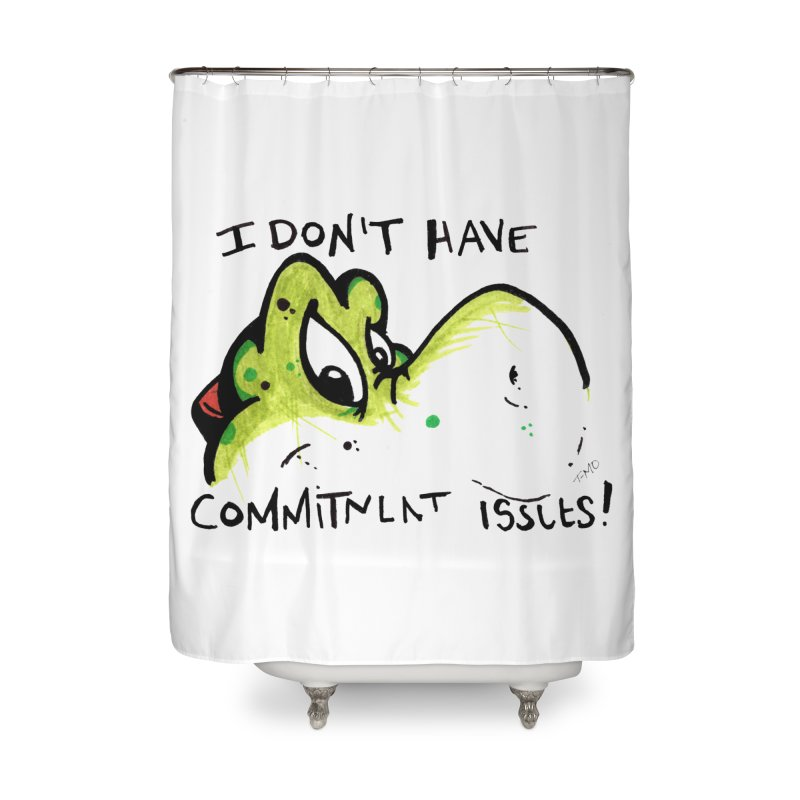 Issues Home Shower Curtain by tmoney's Artist Shop