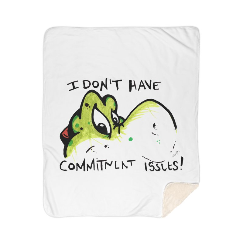 Issues Home Sherpa Blanket Blanket by tmoney's Artist Shop