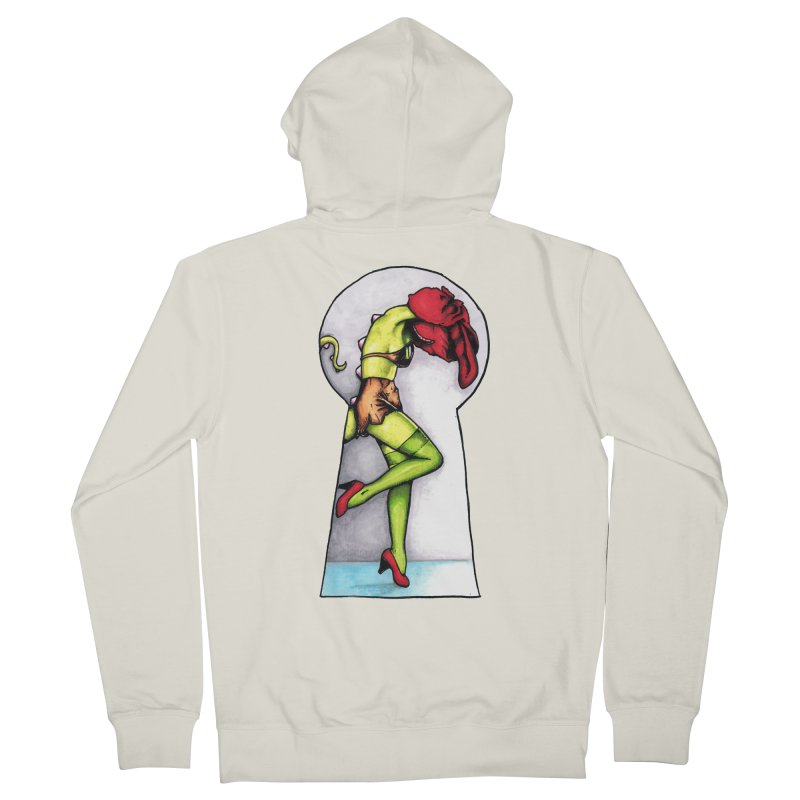 Key Men's French Terry Zip-Up Hoody by tmoney's Artist Shop