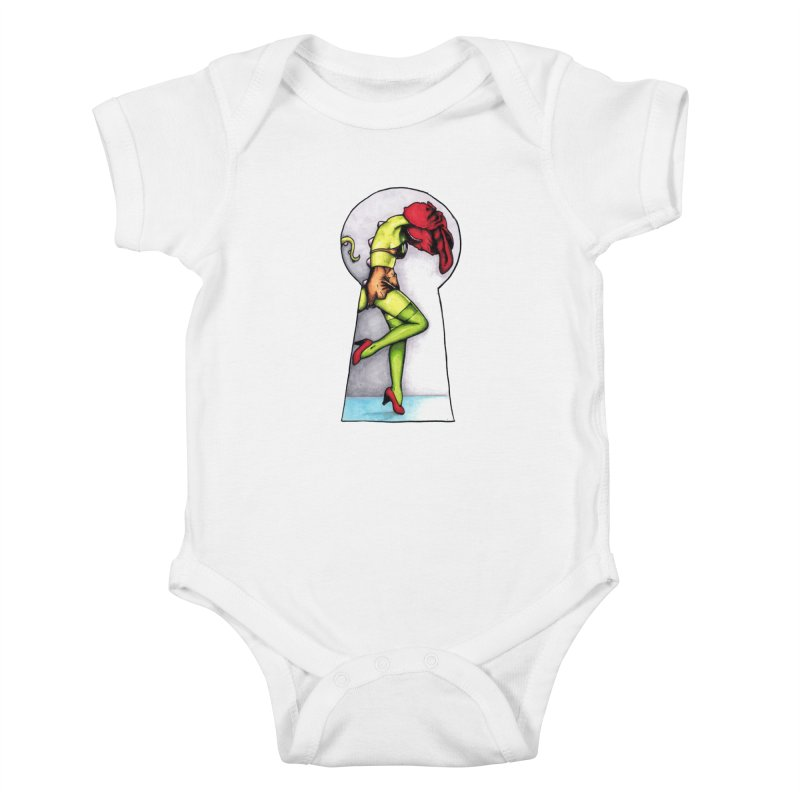 Key Kids Baby Bodysuit by tmoney's Artist Shop