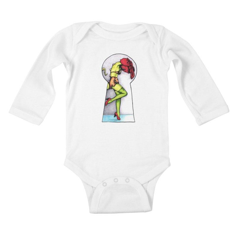 Key Kids Baby Longsleeve Bodysuit by tmoney's Artist Shop
