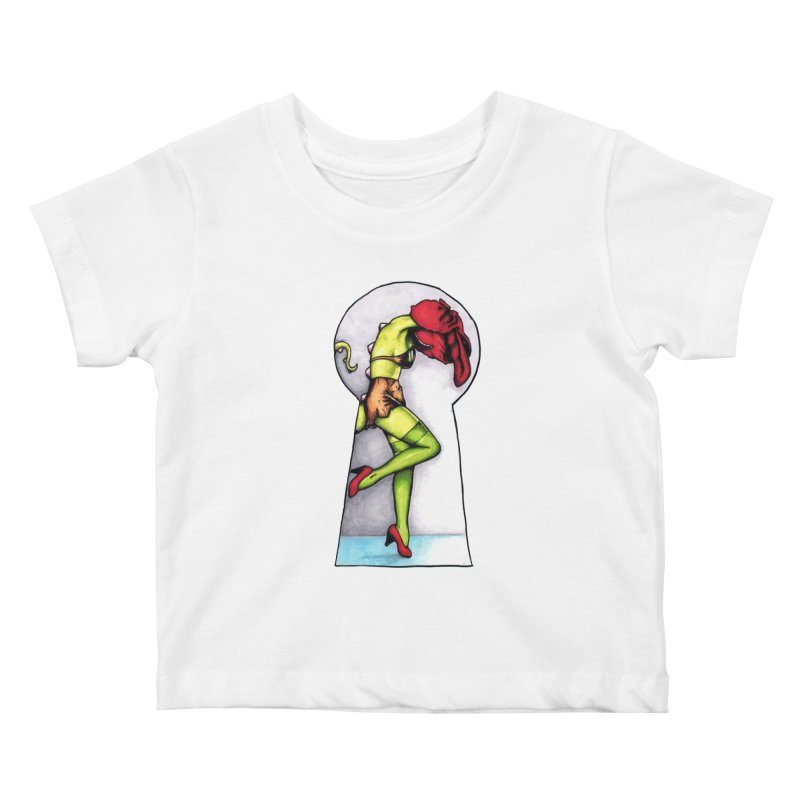 Key Kids Baby T-Shirt by tmoney's Artist Shop
