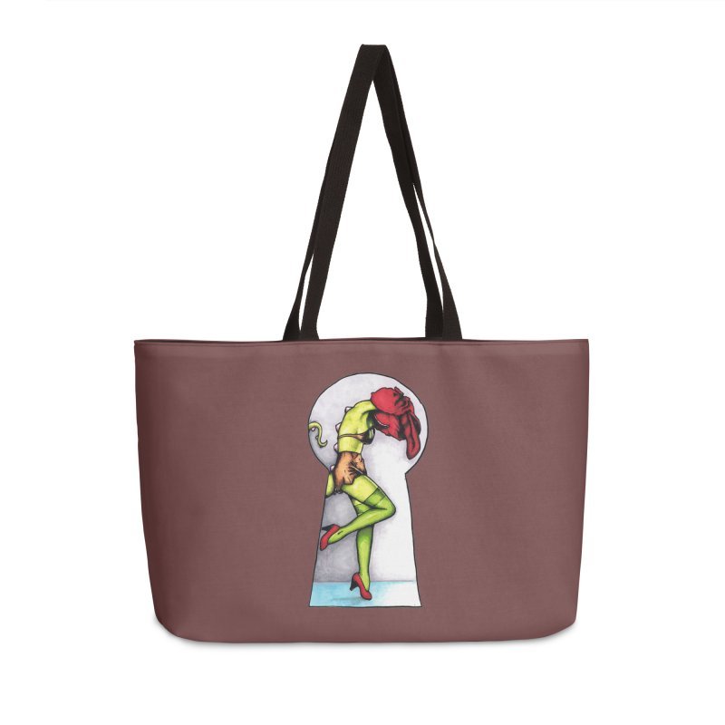 Key Accessories Weekender Bag Bag by tmoney's Artist Shop