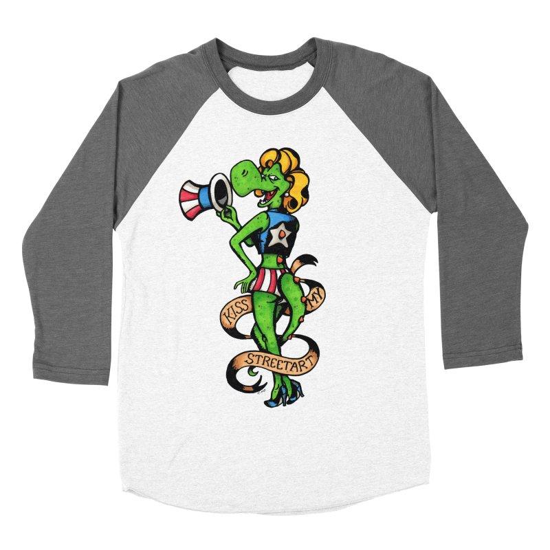 Kiss Women's Baseball Triblend Longsleeve T-Shirt by tmoney's Artist Shop