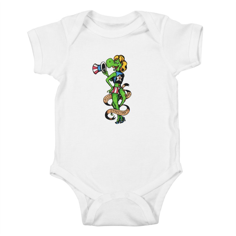 Kiss Kids Baby Bodysuit by tmoney's Artist Shop