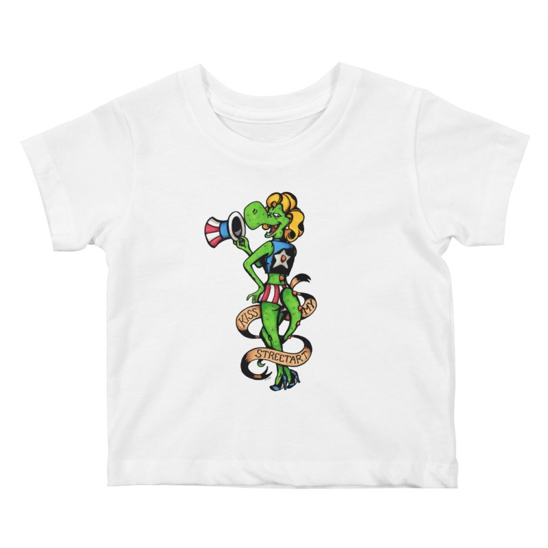 Kiss Kids Baby T-Shirt by tmoney's Artist Shop