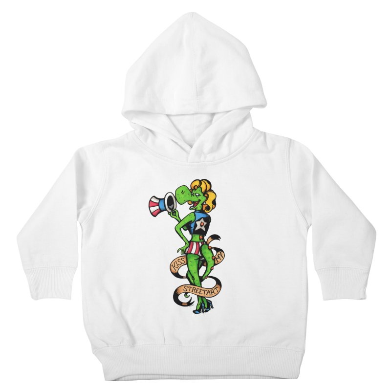Kiss Kids Toddler Pullover Hoody by tmoney's Artist Shop