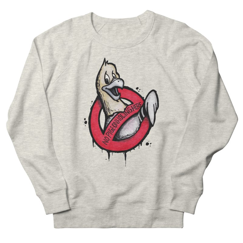 Pigeonholing  Women's French Terry Sweatshirt by tmoney's Artist Shop