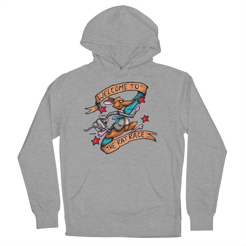 Ratrace Women's French Terry Pullover Hoody by tmoney's Artist Shop