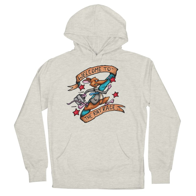 Ratrace Men's French Terry Pullover Hoody by tmoney's Artist Shop