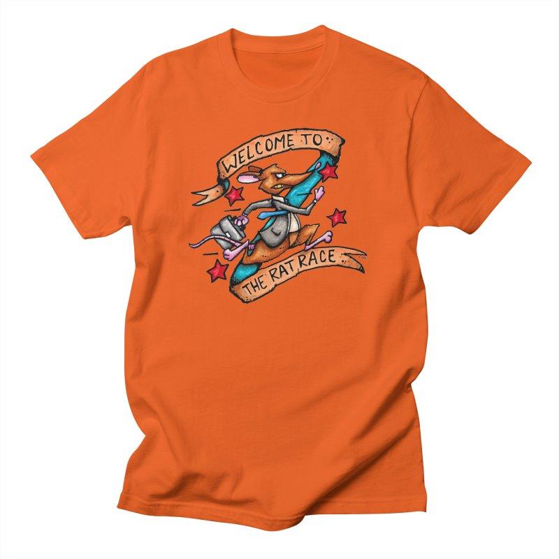 Ratrace Men's T-Shirt by tmoney's Artist Shop