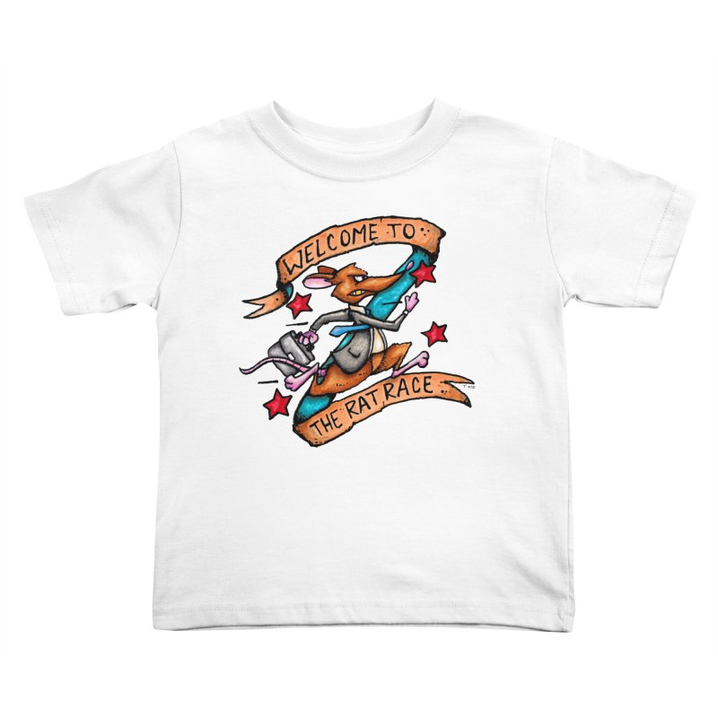 Ratrace Kids Toddler T-Shirt by tmoney's Artist Shop