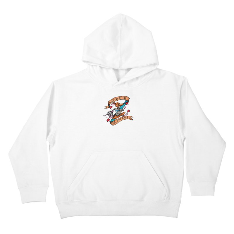 Ratrace Kids Pullover Hoody by tmoney's Artist Shop