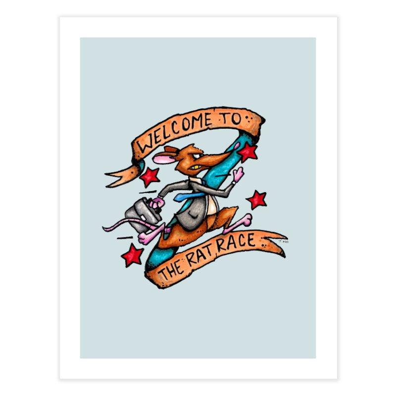 Ratrace Home Fine Art Print by tmoney's Artist Shop
