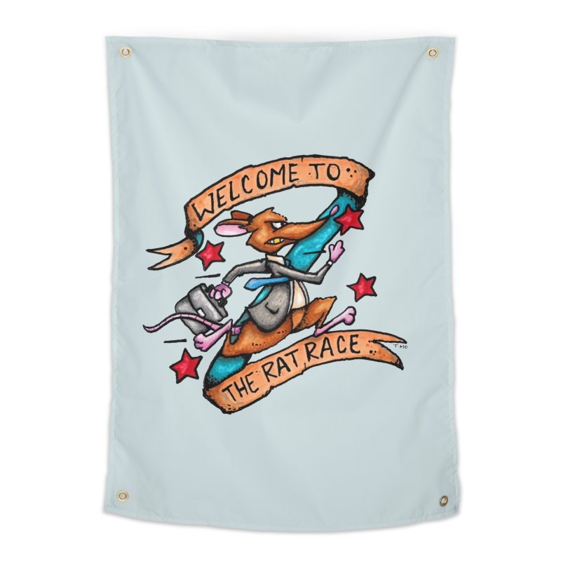 Ratrace Home Tapestry by tmoney's Artist Shop