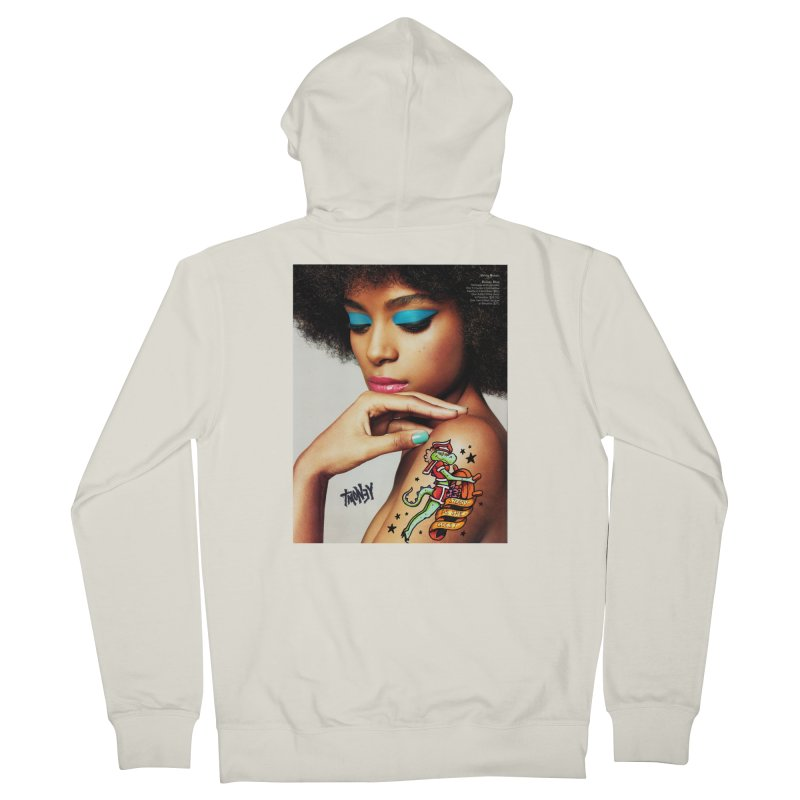 Steady Women's French Terry Zip-Up Hoody by tmoney's Artist Shop