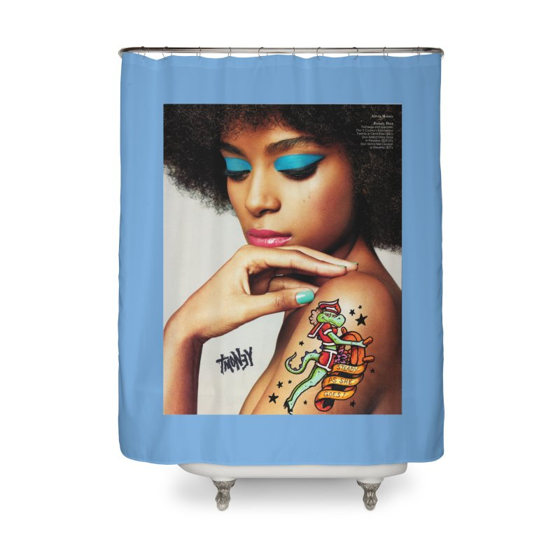 Steady Home Shower Curtain by tmoney's Artist Shop