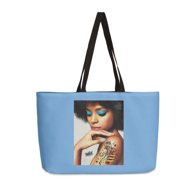 Steady Accessories Weekender Bag Bag by tmoney's Artist Shop