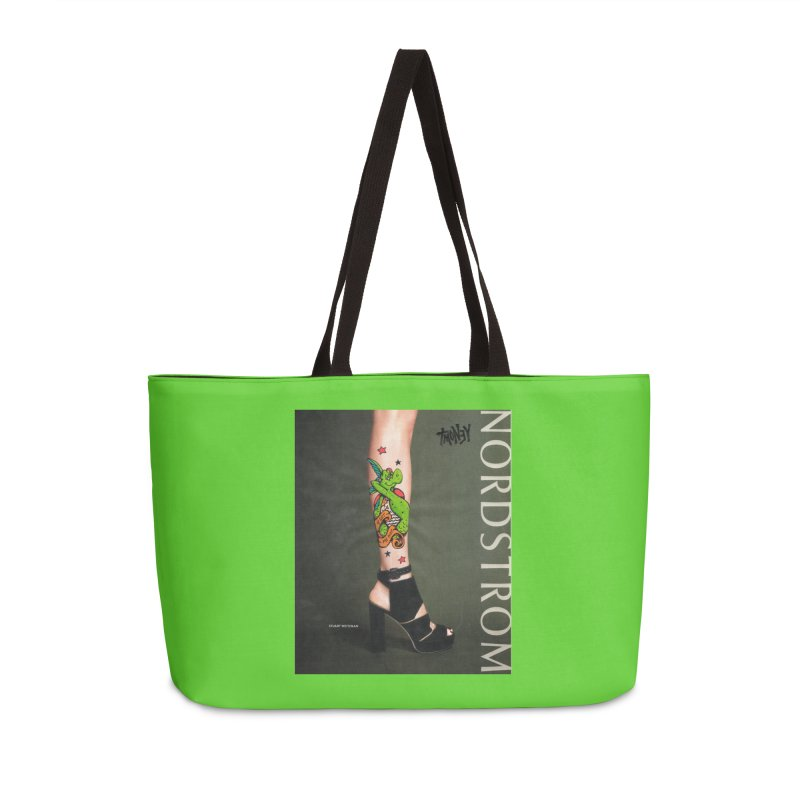 Tattoo Accessories Weekender Bag Bag by tmoney's Artist Shop