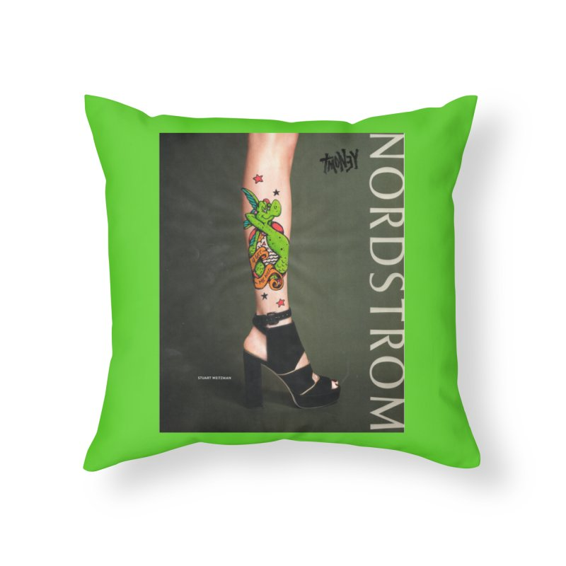 Tattoo Home Throw Pillow by tmoney's Artist Shop