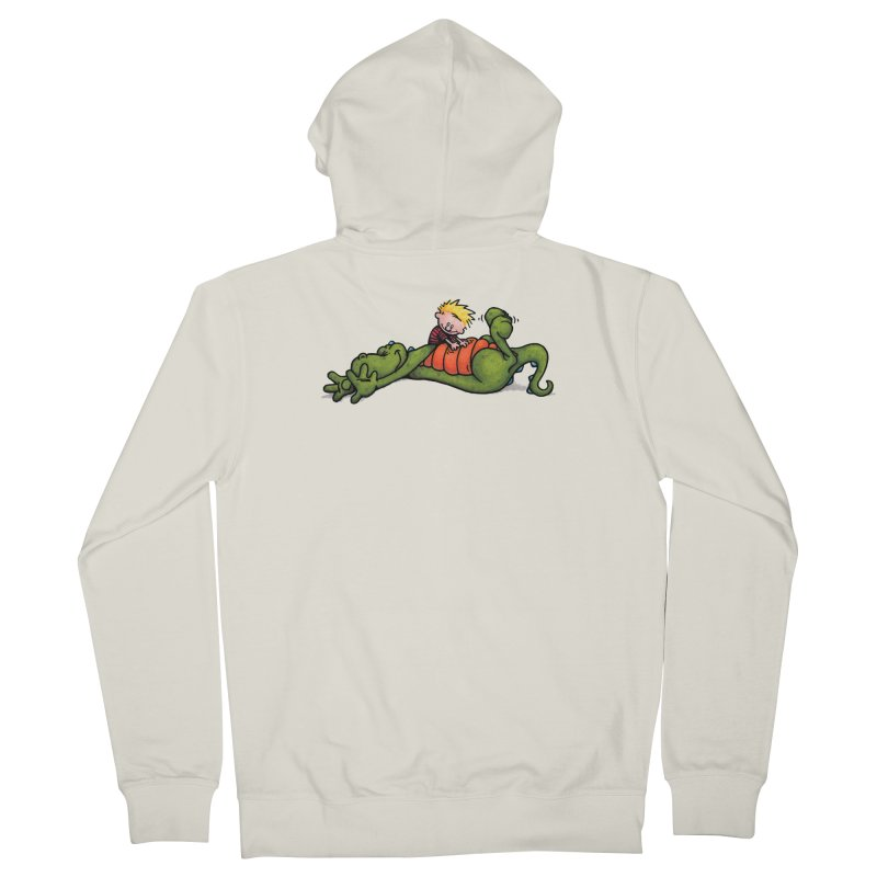 Tickle Men's French Terry Zip-Up Hoody by tmoney's Artist Shop