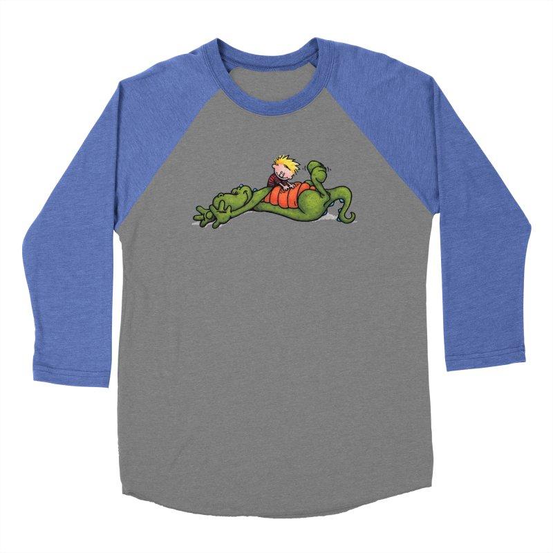Tickle Women's Baseball Triblend Longsleeve T-Shirt by tmoney's Artist Shop