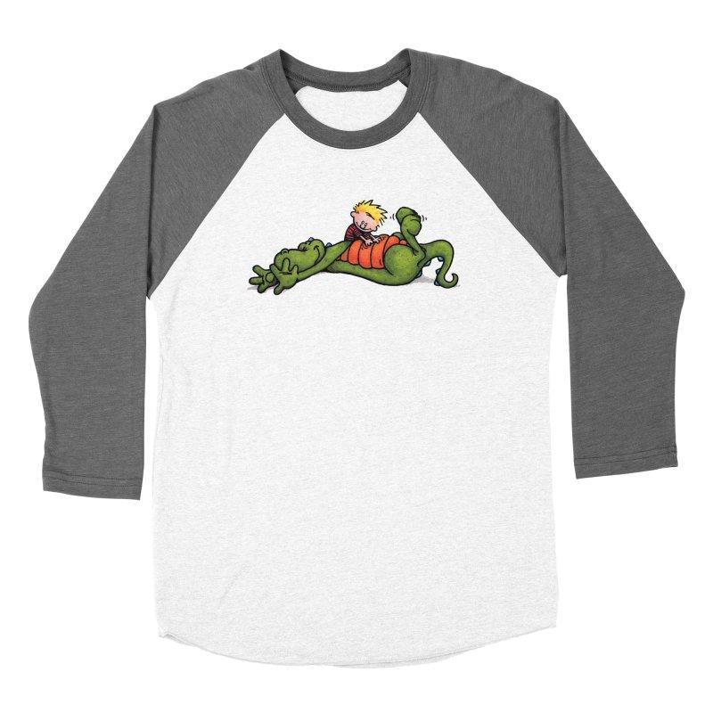 Tickle Men's Baseball Triblend Longsleeve T-Shirt by tmoney's Artist Shop