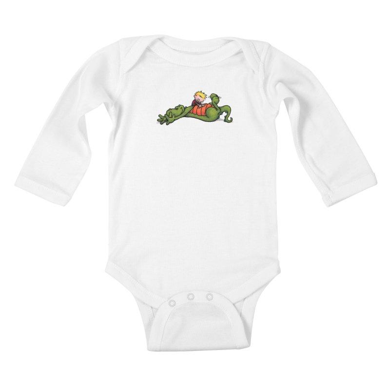 Tickle Kids Baby Longsleeve Bodysuit by tmoney's Artist Shop
