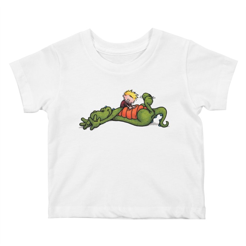 Tickle Kids Baby T-Shirt by tmoney's Artist Shop