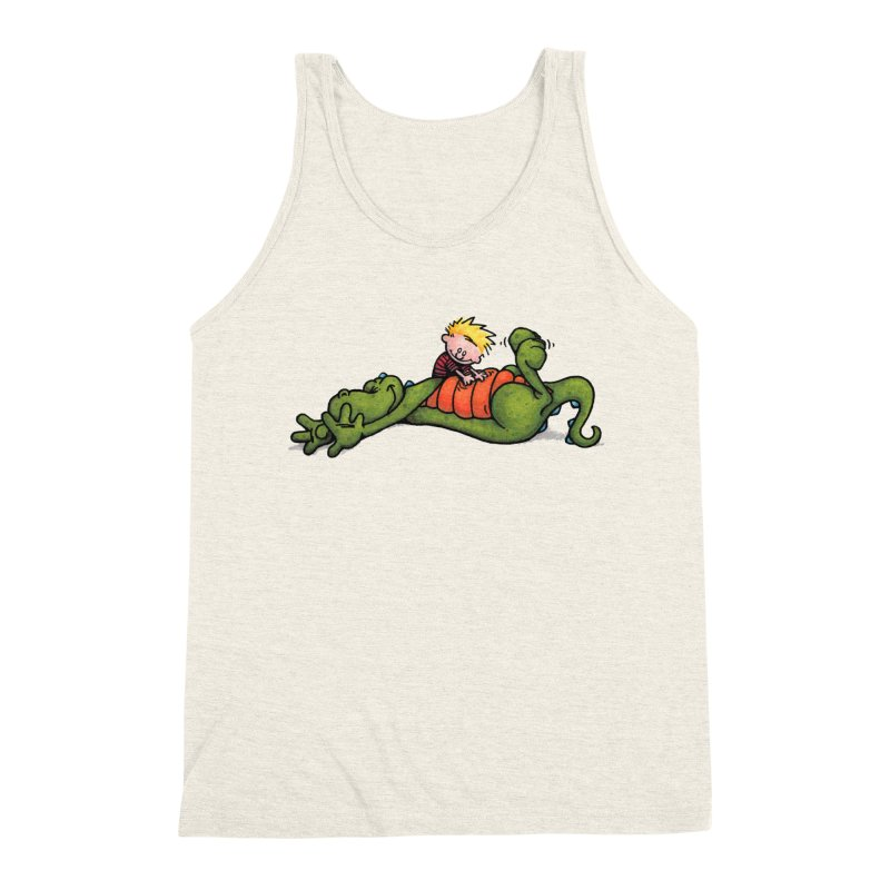 Tickle Men's Triblend Tank by tmoney's Artist Shop