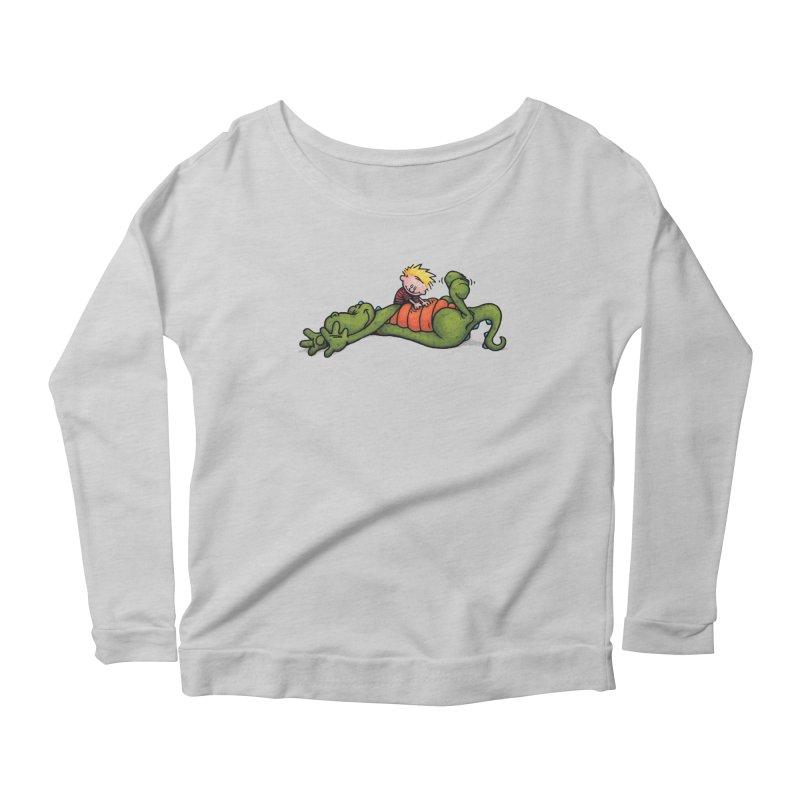Tickle Women's Scoop Neck Longsleeve T-Shirt by tmoney's Artist Shop