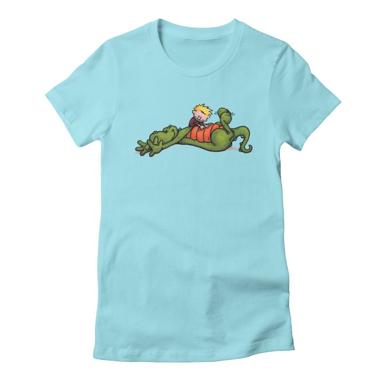 Tickle Women's Fitted T-Shirt by tmoney's Artist Shop