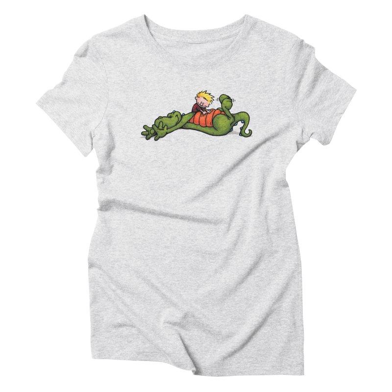 Tickle Women's Triblend T-Shirt by tmoney's Artist Shop