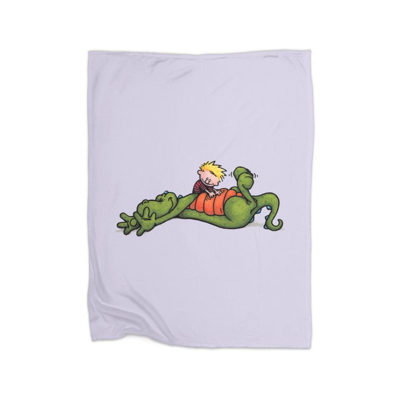 Tickle Home Fleece Blanket Blanket by tmoney's Artist Shop