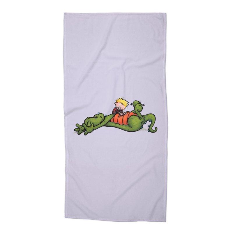 Tickle Accessories Beach Towel by tmoney's Artist Shop