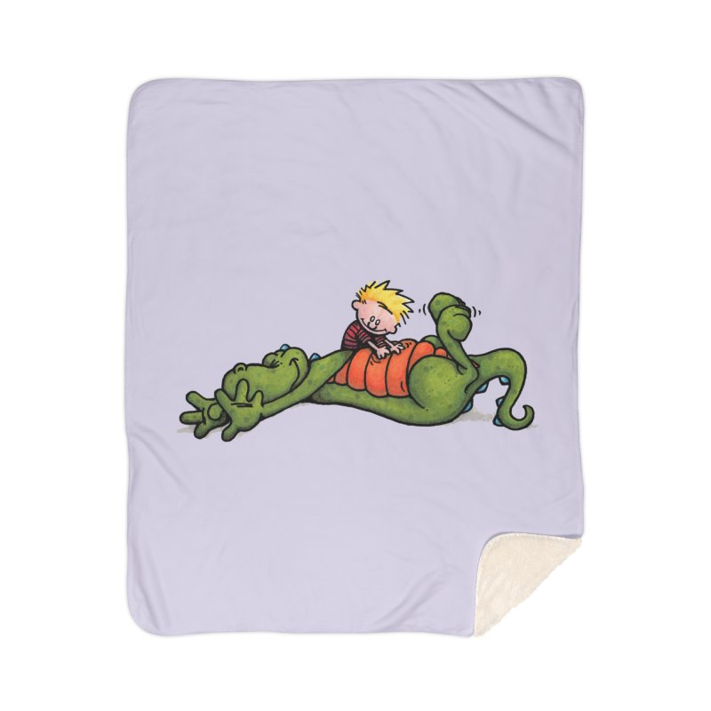 Tickle Home Sherpa Blanket Blanket by tmoney's Artist Shop