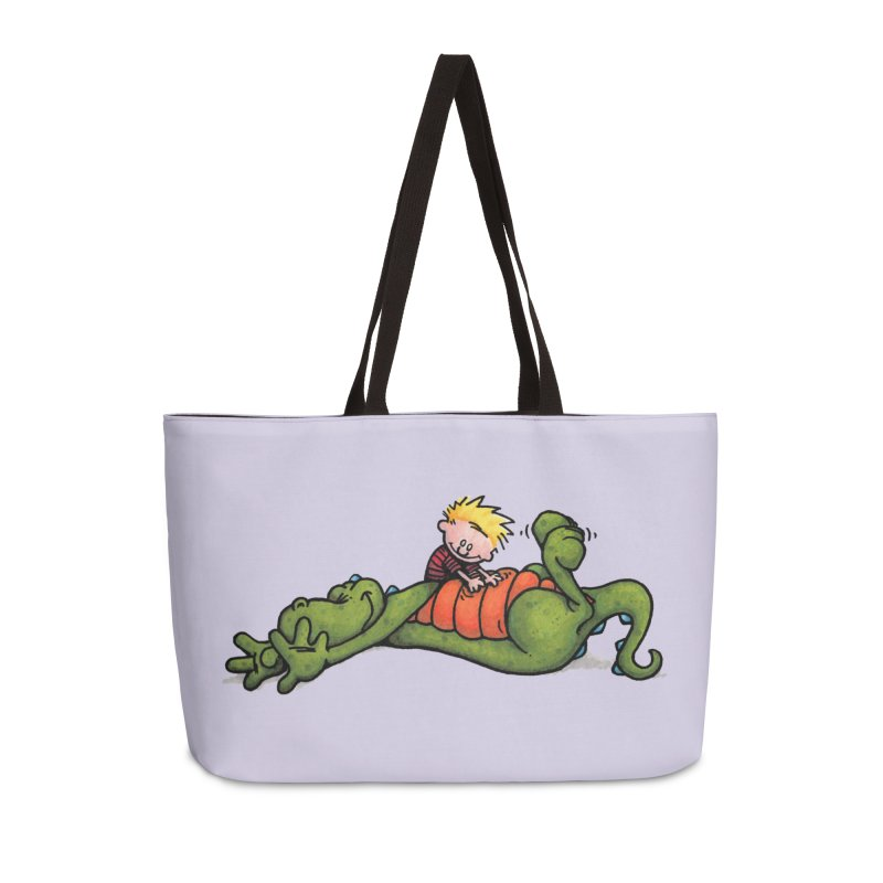 Tickle Accessories Weekender Bag Bag by tmoney's Artist Shop