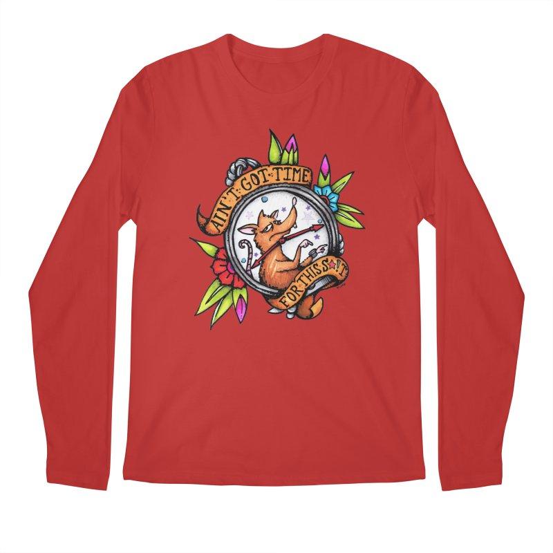 Time Men's Regular Longsleeve T-Shirt by tmoney's Artist Shop