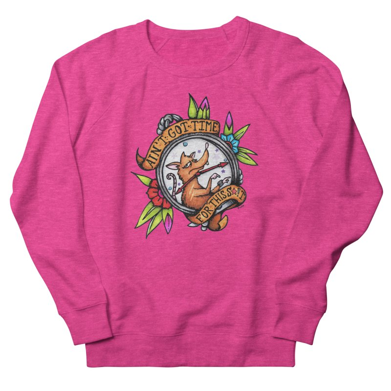 Time Women's French Terry Sweatshirt by tmoney's Artist Shop
