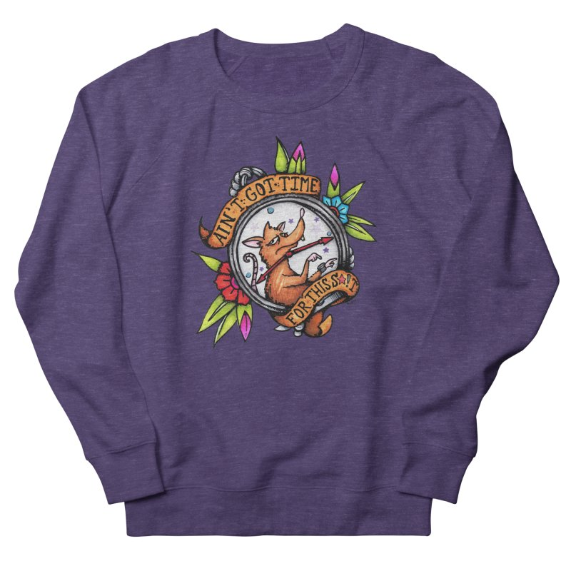 Time Men's French Terry Sweatshirt by tmoney's Artist Shop