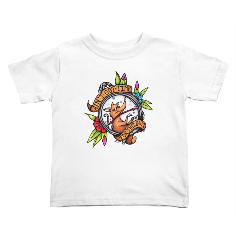 Time Kids Toddler T-Shirt by tmoney's Artist Shop