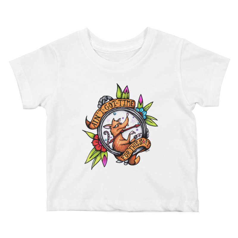 Time Kids Baby T-Shirt by tmoney's Artist Shop