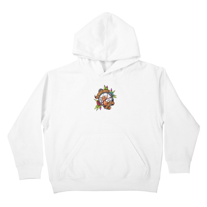 Time Kids Pullover Hoody by tmoney's Artist Shop