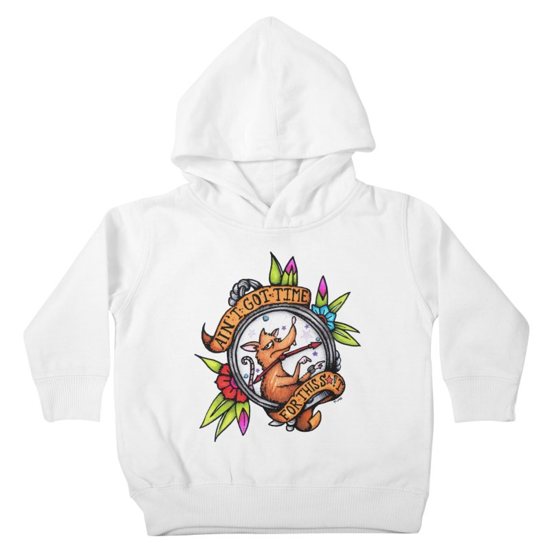 Time Kids Toddler Pullover Hoody by tmoney's Artist Shop