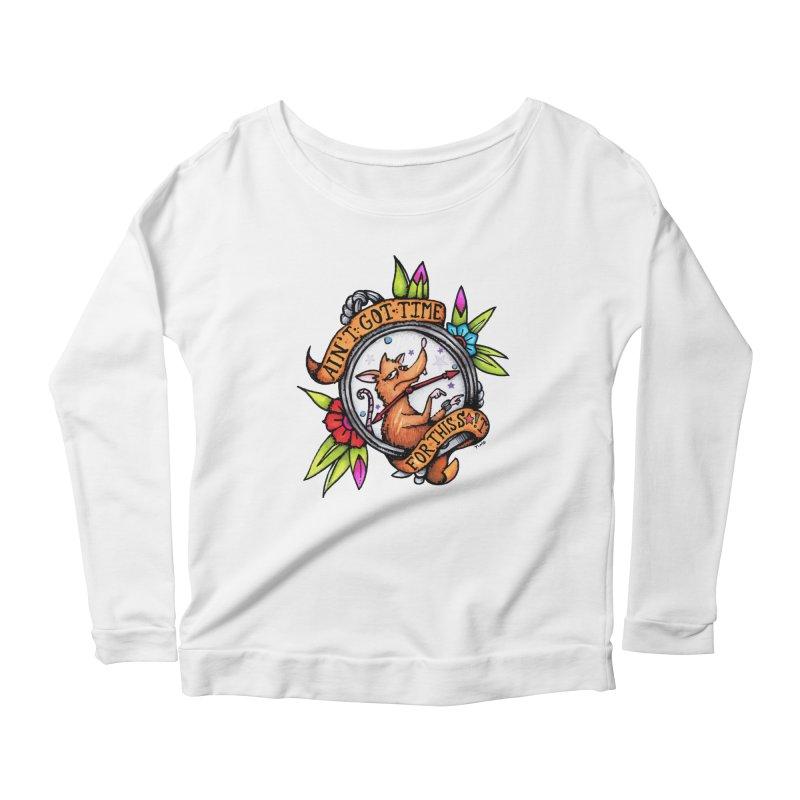 Time Women's Scoop Neck Longsleeve T-Shirt by tmoney's Artist Shop