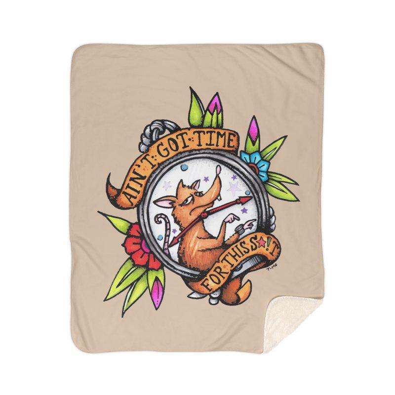 Time Home Sherpa Blanket Blanket by tmoney's Artist Shop